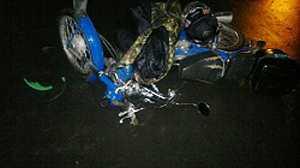 Пьяный скутерист сбил в Брянске пешехода