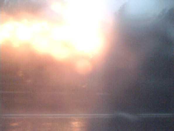 Очевидцы: «Грузовик горел, как факел, но продолжал ехать»