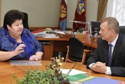 Губернатор пообещал поддержку Комаричскому техникуму