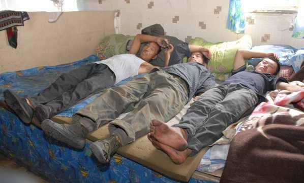 В подпольном общежитии для нелегалов в центре Брянска жили 62 мигранта