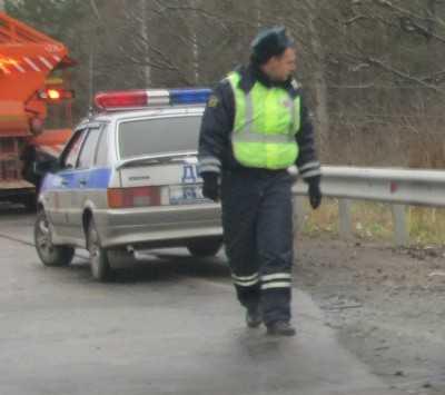 Брянские гаишники задержали украинца, находившегося в розыске