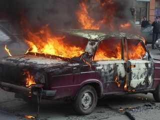 Злоумышленники сожгли в Брянской области несколько машин