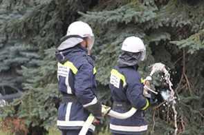 Брянским пожарным и спасателям вручили новую технику