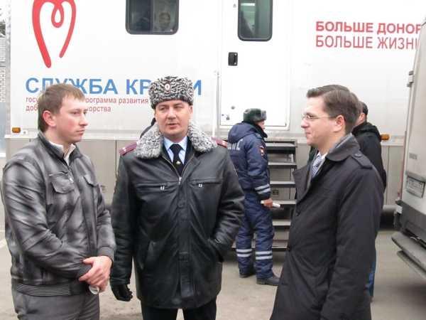 Сотрудники Брянского УГИБДД стали донорами