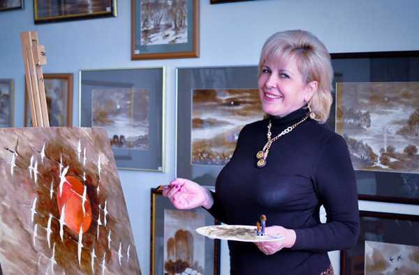 В Брянске пройдет выставка картин из нефти