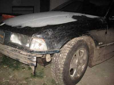 В Лопандине пьяную женщину сбил водитель БМВ