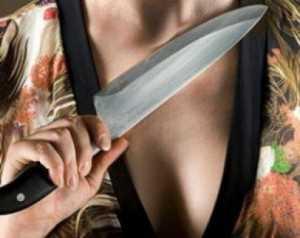 Обиженная брянская женщина зарезала мужа