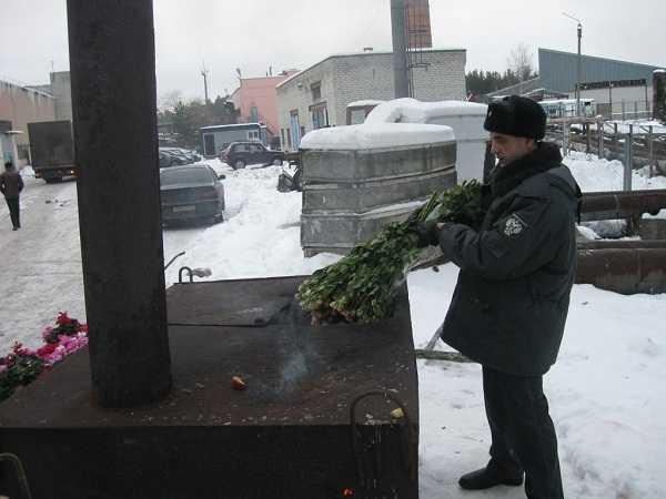 Зараженную партию цветов сожгли в Брянске