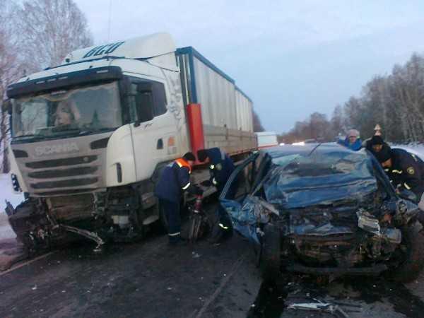 В Трубчевске пьяный водитель сбил пьяного пешехода