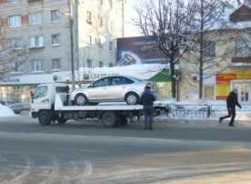 В Брянске с начала года эвакуатор увез почти 2200 автомобилей