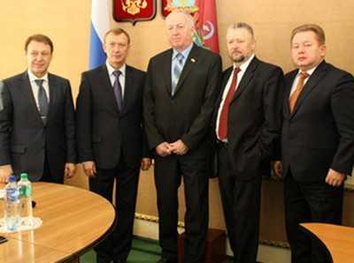 Брянский губернатор встретился с «потенциальным инвестором»