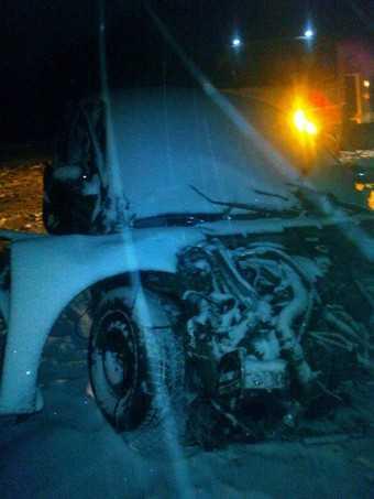 На трассе Брянск – Новозыбков разбился водитель Рено