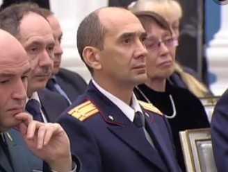 Директор брянского лицея Игорь Афонин получил награду из рук Путина