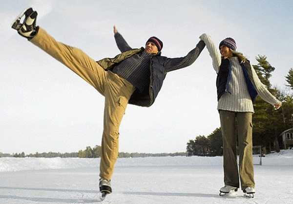 Власти Брянска указали 80 мест для катания на коньках и лыжах