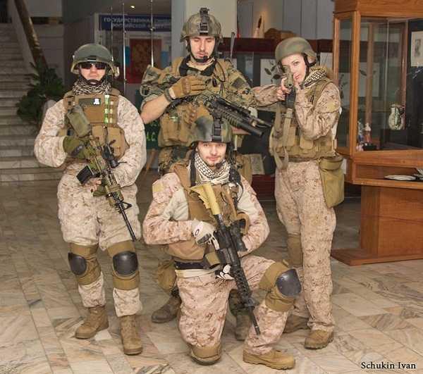 В Брянске начинает работу необычная выставка «Армии мира 2»