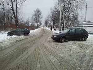 В Брянске трезвый водитель не уступил проезд пьяному