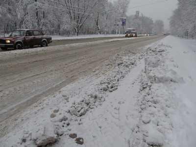 Зимний рекорд в Брянске: за сутки случилось 70 аварий