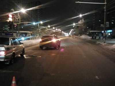 В Брянске водитель Инфинити сбил мальчика