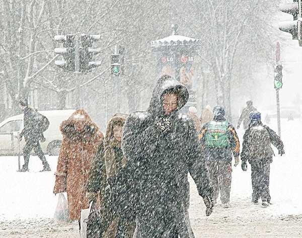 На Брянск надвигается оттепель и непогода