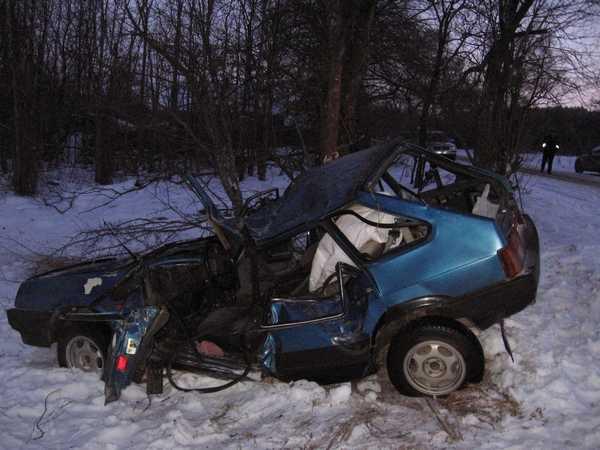Под Клинцами в день рождения погиб водитель «девятки»
