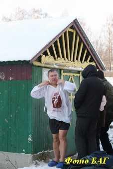 В Брянске с 23 часов 18 января можно окунаться в трех купелях