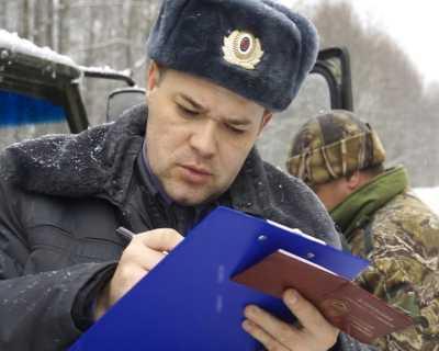 Брянская полиция задержала в январе уже более 50 браконьеров