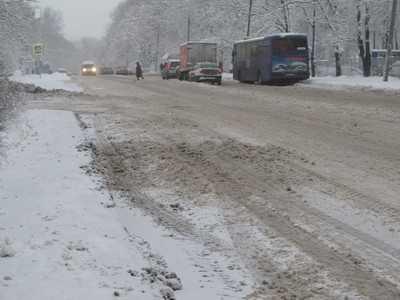 Дороги центра Брянска и Бежицы признали неудовлетворительными