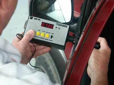 За 2012 год брянские гаишники «растонировали» больше 8 тысяч авто