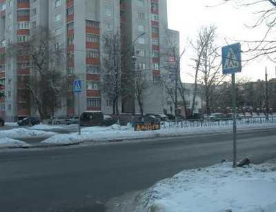На Московском проспекте водитель Ауди сбил пенсионерку