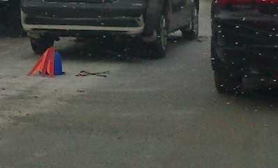 В Брянске автомобилистка на Пежо вынужденно атаковала дерево
