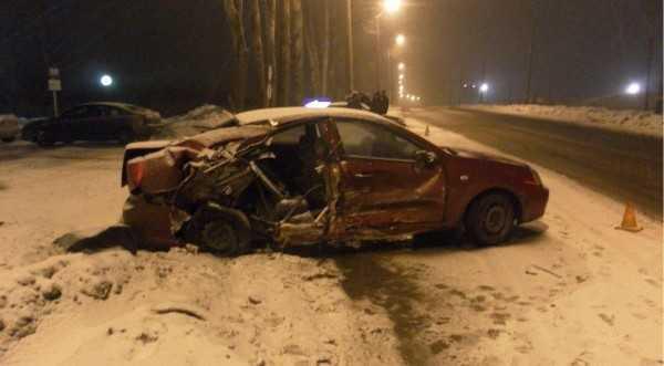 На Объездной в Брянске произошло две аварии