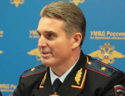 Начальнику Брянского УМВД Валентину Кузьмину вручен орден Мужества
