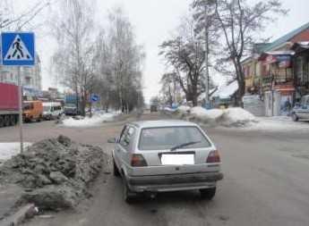 В Брянске работник «Журавлей» сбил женщину