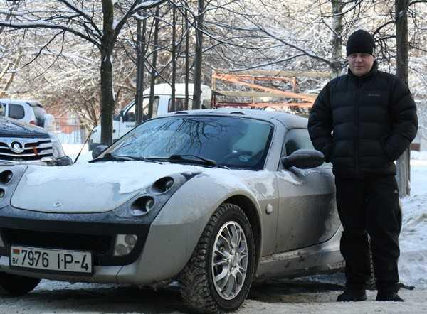 Smart Roadster: Брянску подарили образец изящества и малообъемности