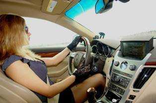 Брянскую водительницу оштрафовали за ложный донос