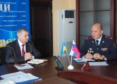 Госавтоинспекции Брянска и Сум договорились о сотрудничестве
