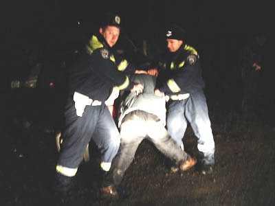 Брянские автоинспекторы задержали пьяного угонщика