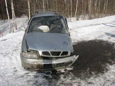 В Брянской области   в ДТП пострадали  три шестиклассницы
