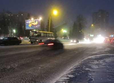 Брянскую область три дня будет заметать снегом