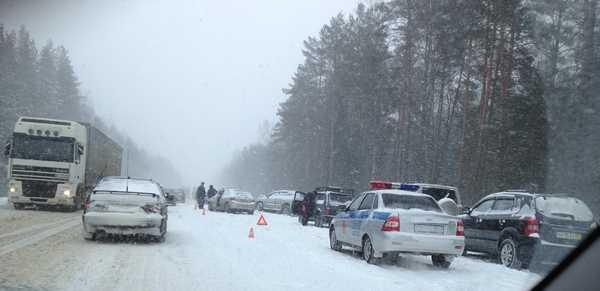 Женщина, пострадавшая в крупной аварии под Брянском, умерла в больнице