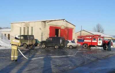 Брянские добровольцы спасли дом от пожара
