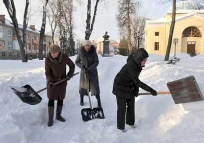 Брянские чиновники выйдут на расчистку снега