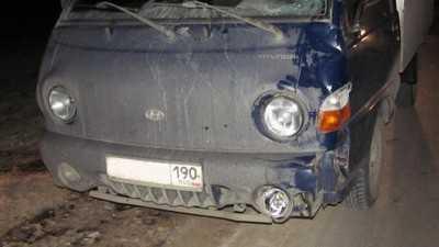 Около Погара пьяный брянский пешеход попал под колеса иномарки