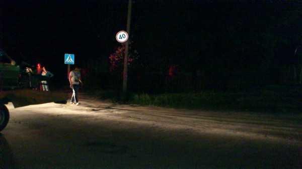 В Брянске маршрутка сбила женщину возле остановки