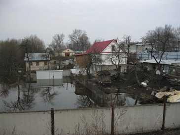 В Брянске началось подтопление жилых домов