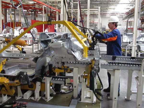 В Калуге начато производство Citroen C4