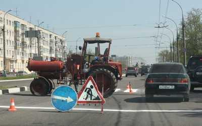 Отремонтированные дороги в Брянске будут принимать ГИБДД и горожане