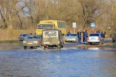 Паводок в Брянске: вода уже отступает