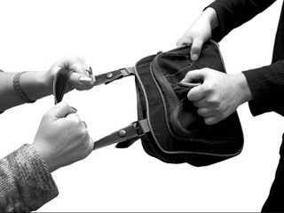Брянские сыщики поймали грабителя, отобравшего сумку у прохожей