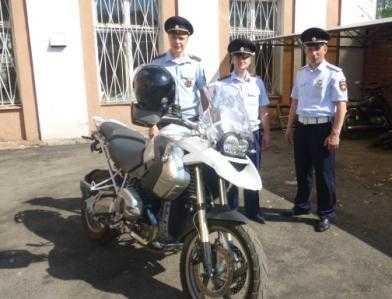 Брянские гаишники задержали мотоцикл,  разыскиваемый Интерполом